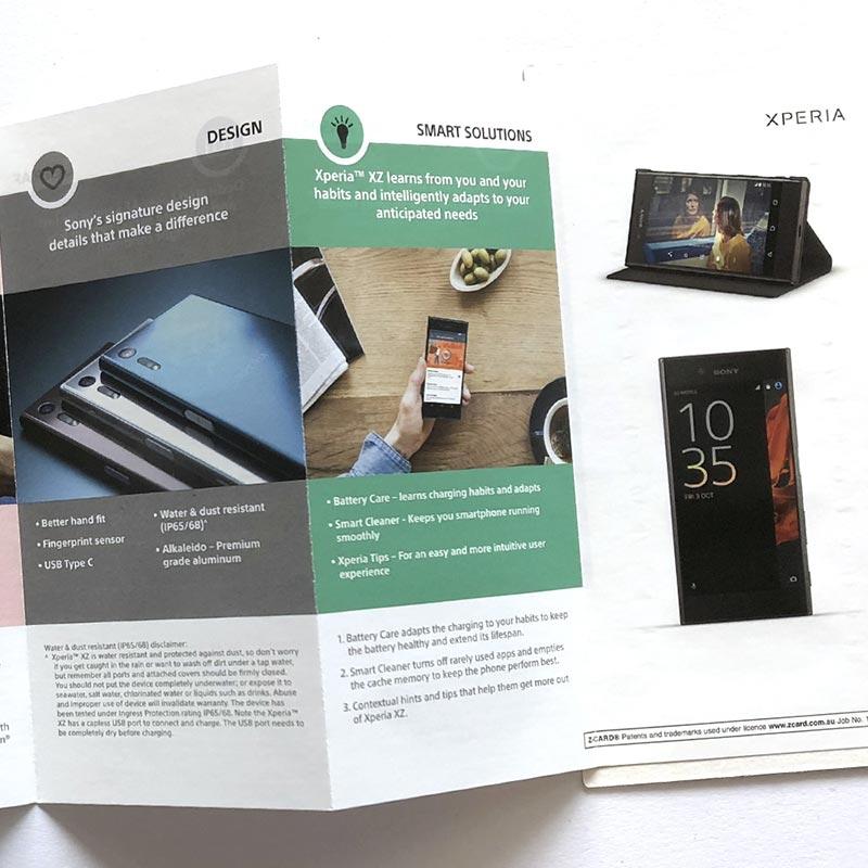SONY-3 - The Smarter Print